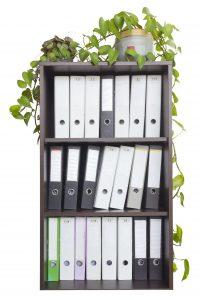 In,A,Wooden,Office,Cabinet,Is,A,Lot,Of,Folders